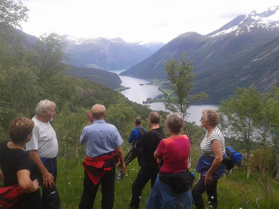 29.06.2016 - Flott onsdagstur til Kopasetra. Takk til Vigdis Yddal Meland for guiding, kake og kaffi.