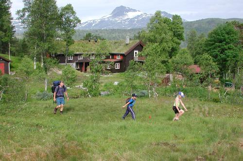 Trollheimen er ett av områdene som har hatt størst økning i besøket i år. Dette området går for å ha noen av de mest sjarmerende og tradisjonsrike hyttene. Her fra Trollheimshytta.