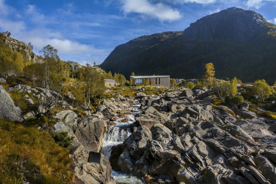 PERLE I FARE: Den fantastiske Kvitladalen med turisthytta Kvitlen ligger inne i forslaget til nasjonal ramme for vindkraft.
