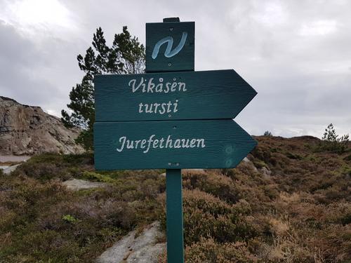 Turen er ein del av Nordsjøløypa