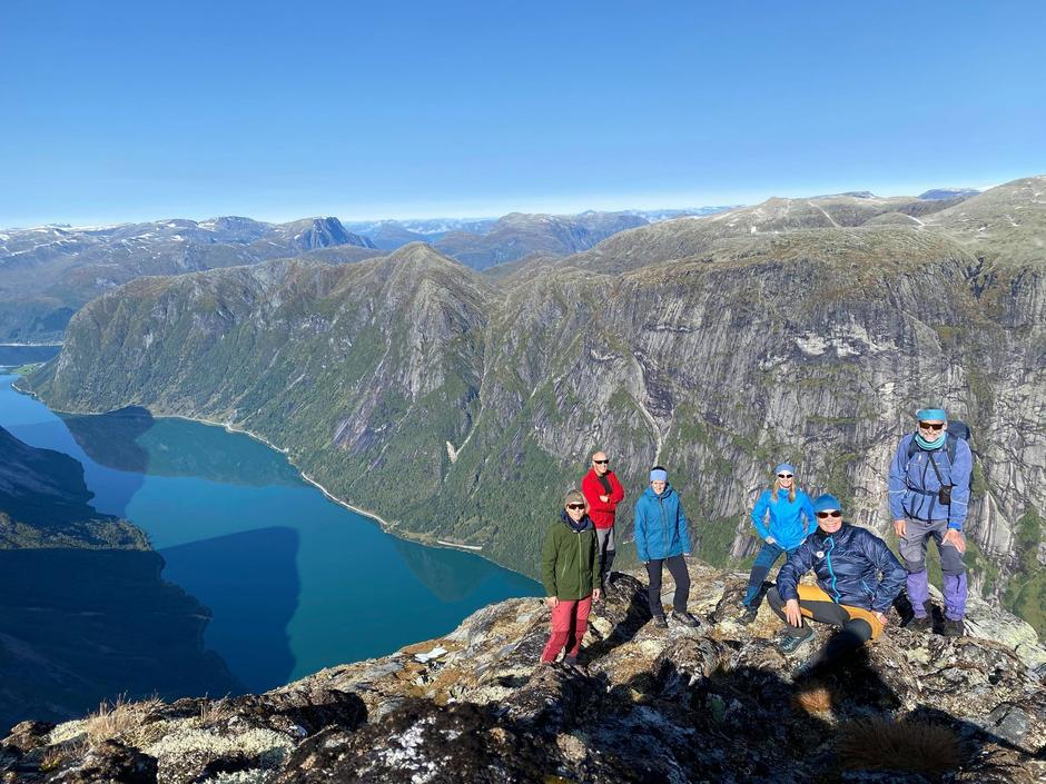 Midtre Nordfjord Turlag på tur