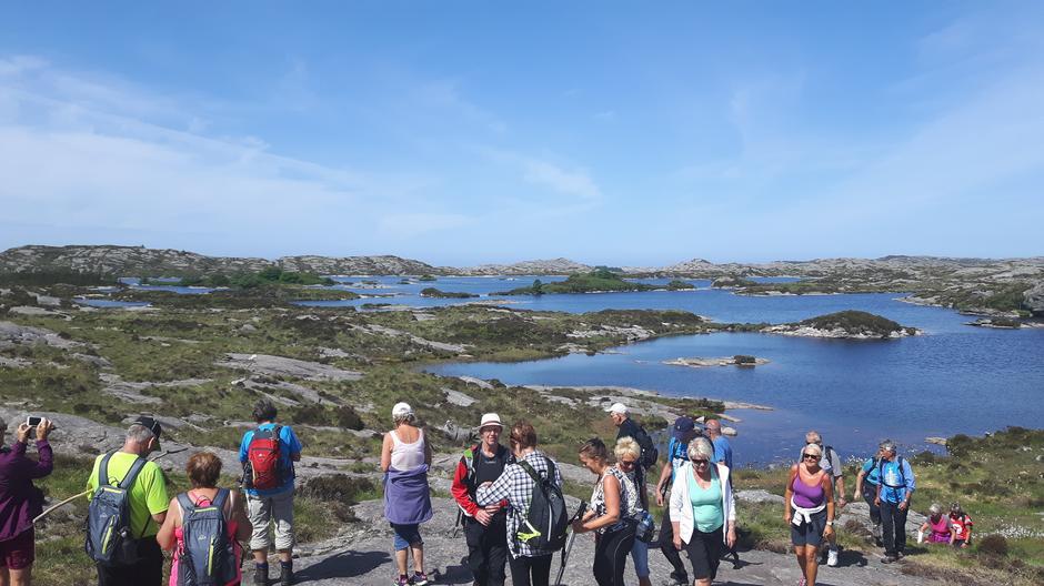 Utsikt over Gåsavatnet