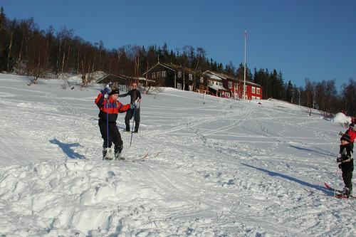 Vinterferie på Gjevilvasshytta