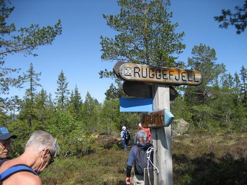 Seniortur til Ruggefjell.