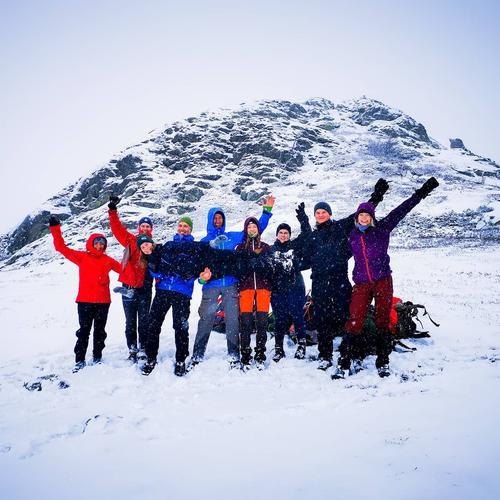Fra Langsua tur med DNT ung Lillehammer