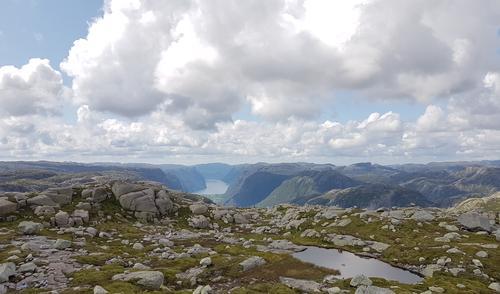 Frafjord fra Geitaknuten