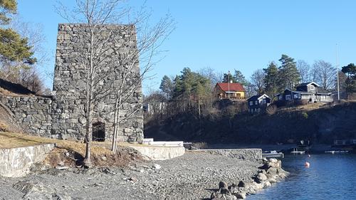 Kalkovnen på Brønnøya