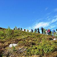7-fjellstrimmen på tur