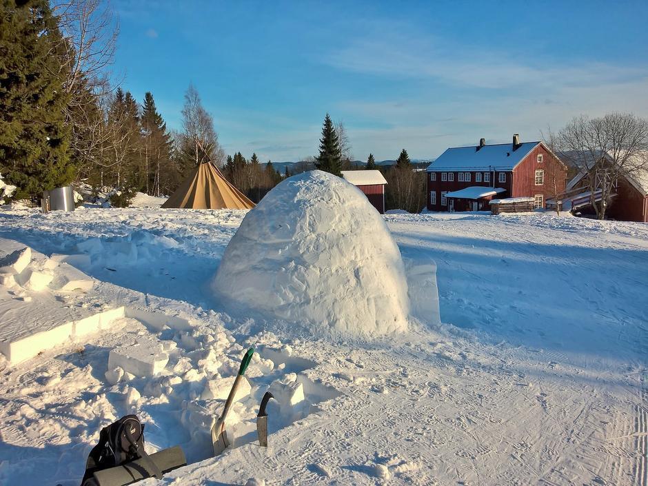 Rønningen gård inviterer til mange morsomme aktiviteter i vinterferien.