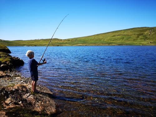 Fiskekonkurranse på Heggdalsvatnet 23. august
