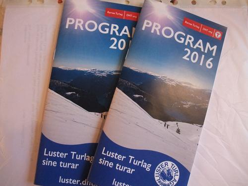 Turprogram 2016