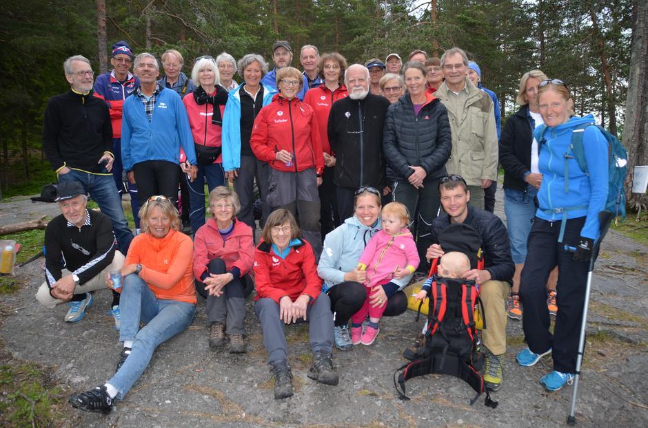 Sosial tur med turledere i Bærum Turlag