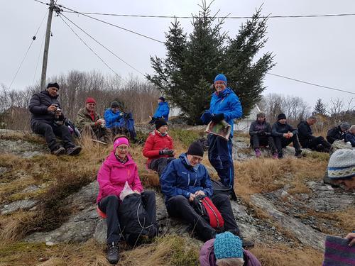 Seniorgruppa starta 2018 med ein enkel tur på Tyssøyna.