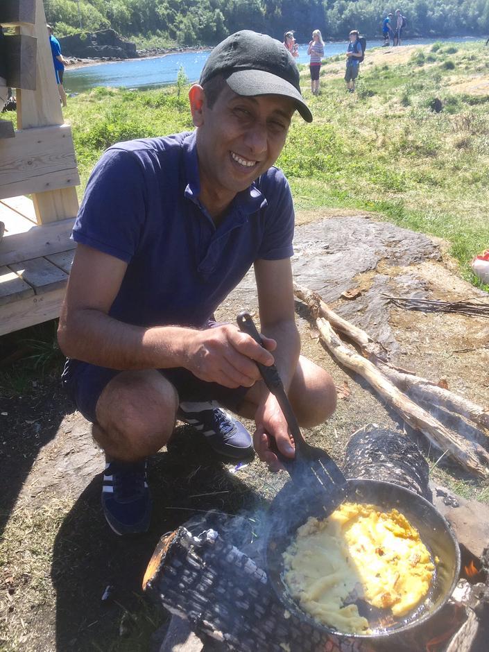 Ahmed steker pannekaker