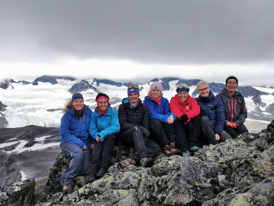 Toppen av Ryggjehøe
