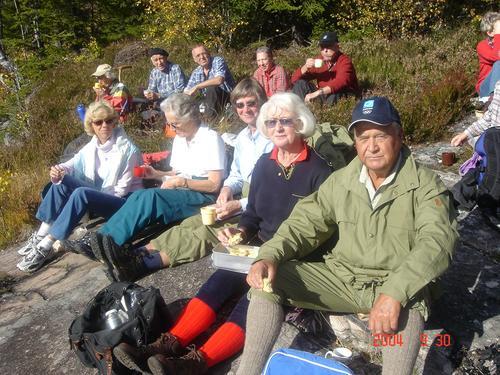Torsdagtur med seniorgruppa til Eftang -Holtefjell 19. mai