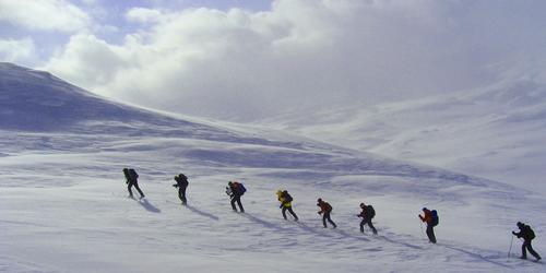 Skitur med start fra Haukeliseter