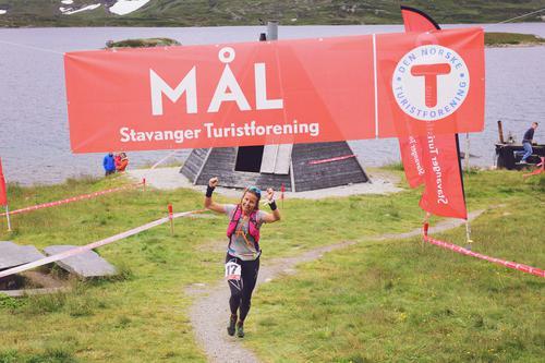 Vinnere Haukeli Ultra Trail 2016: Anja Kristin Lindanger