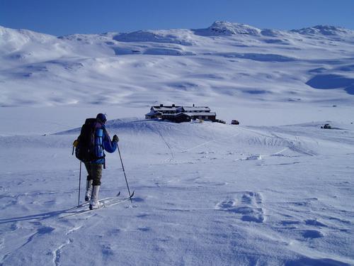 Vintersesong på Iungsdalshytta