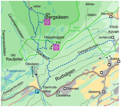 kjøsterudjuvet kart Askerdagene og tur til Bjørnehiet og kjøsterudjuvet — Asker Turlag kjøsterudjuvet kart