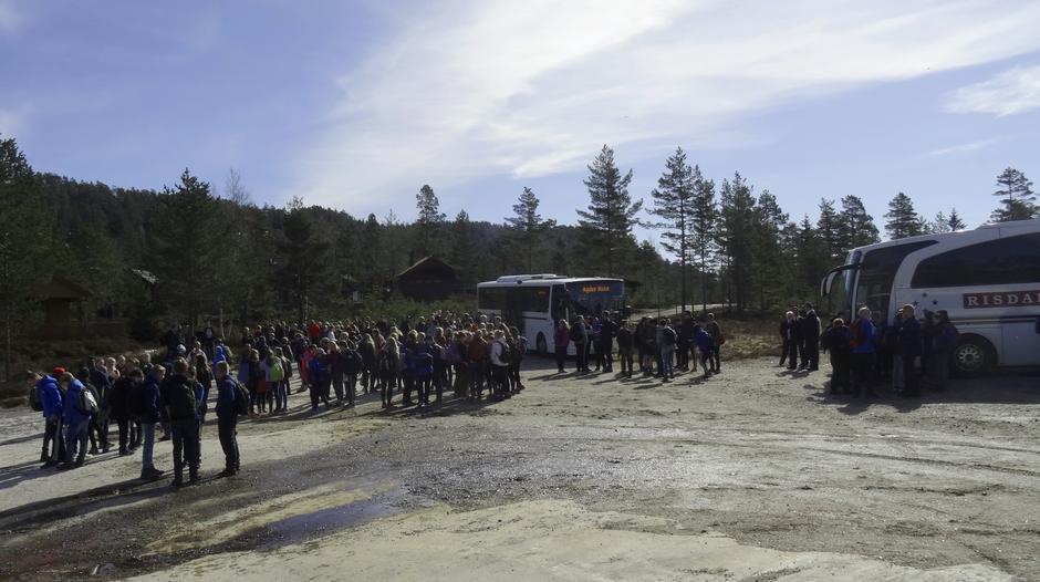 Bussane kom frå 6 ungdomsskular.