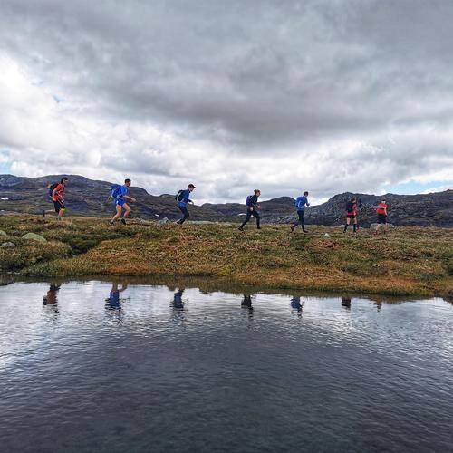Løpetur over Hardangervidda