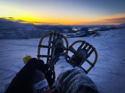 Fra topptur på truger til Frostatind i Møre og Romsdal romjulen 2017.