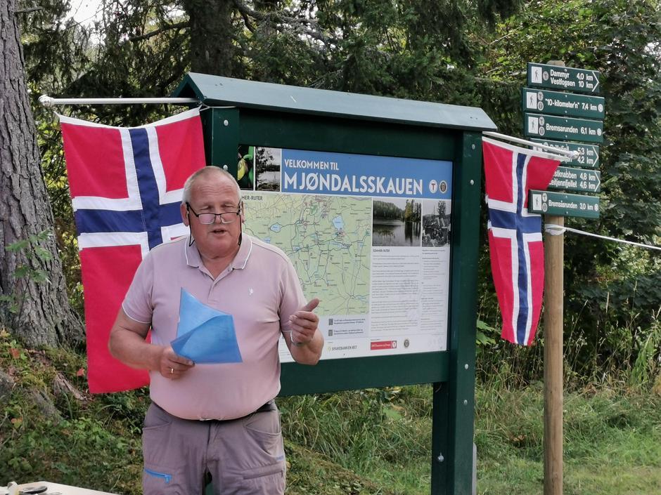 Leder i MIF senior, Thor Erik Korsgård.