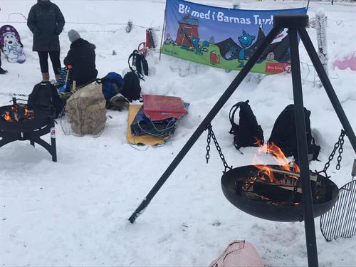 14. januar hadde Barnas Turlag akedag i Bagn