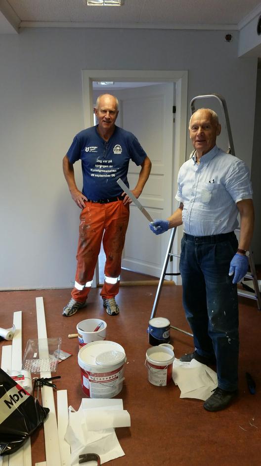 Tom Bjerke og Jan P. Simonsen
