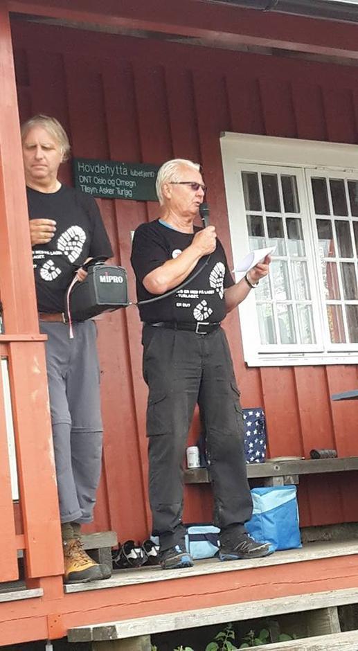 Arne Fredbo taler