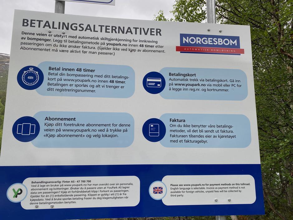 Ny betalingsordning for bompenger fra Brøste.