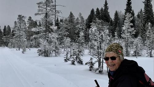 Skitur til Vollkoia/Blåmyrkoia 23.01.2019.