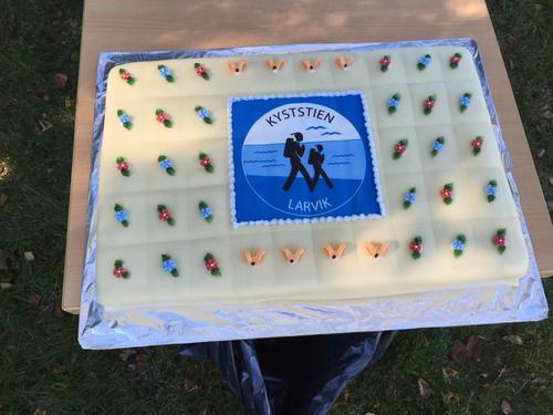Fin markering av kyststiens 25 års jubileum