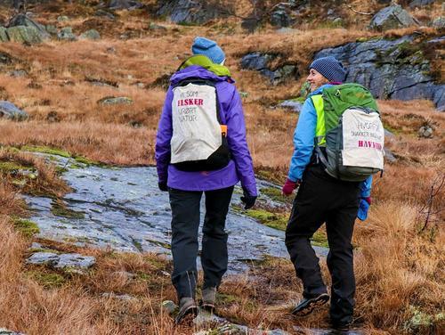 Fra støttemarsj for Stølsheimen med Bergen og Hordaland Turlag