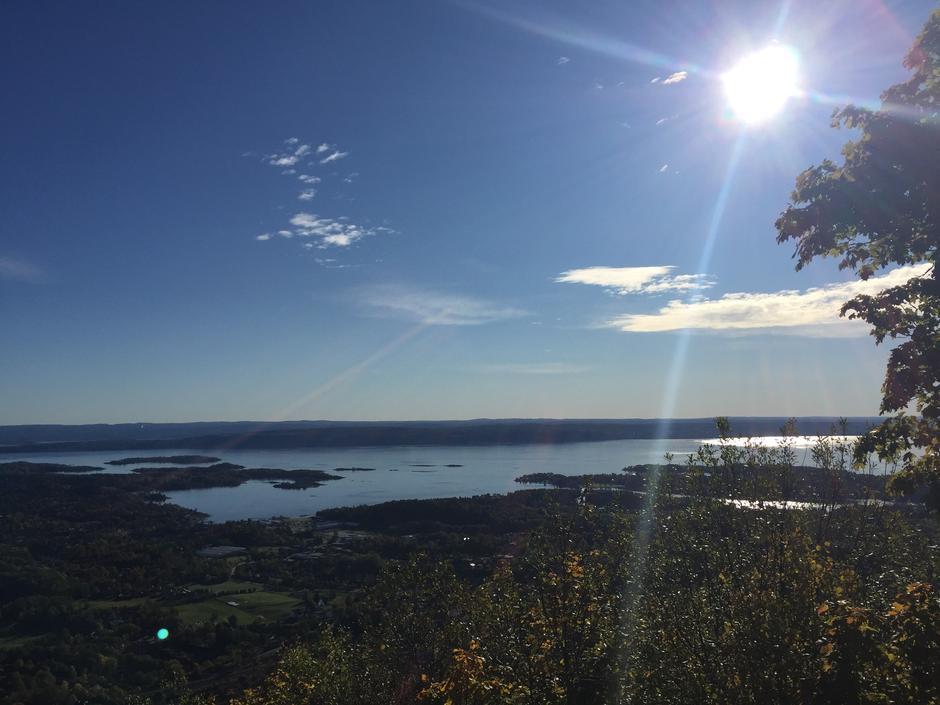 Utsikt fra Skaugumsåsen