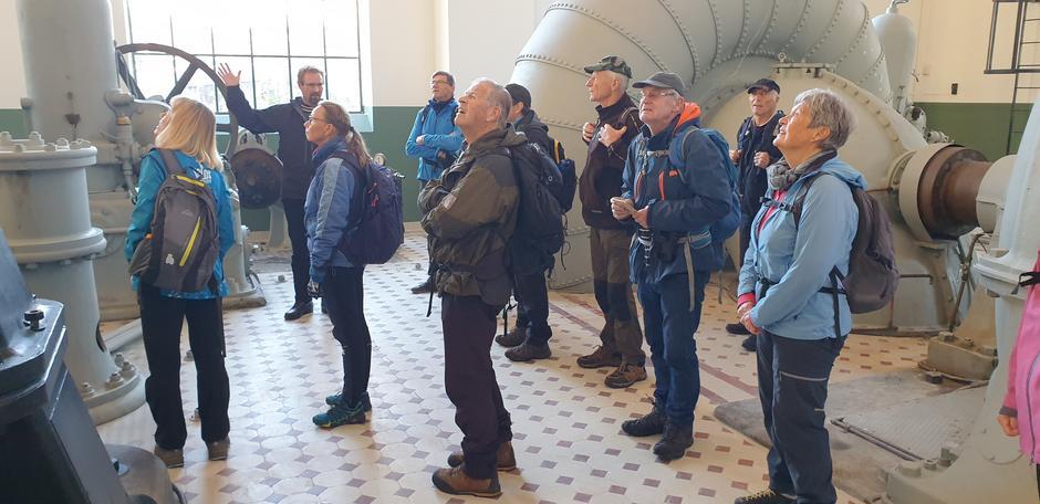 Inne på museet med guide