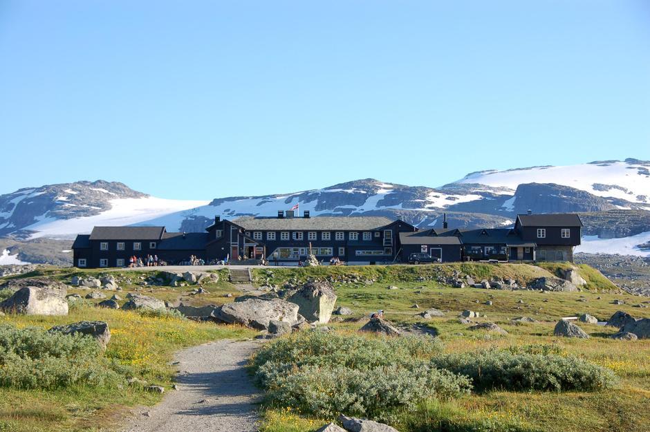 Finsehytta. Foto: DNT Oslo og Omegn