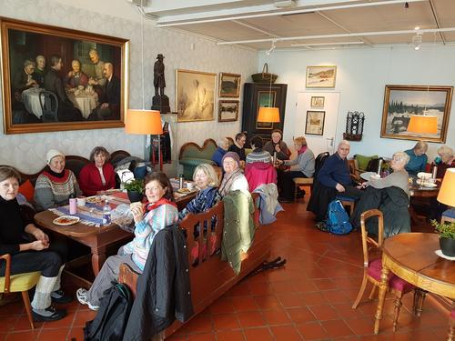 Pause på Asker Museum