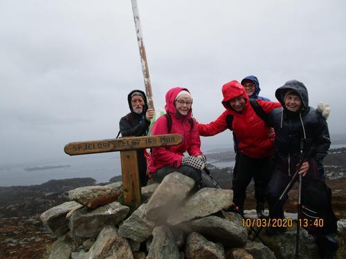 Tirsdagsgruppa på tur til Spjeldsfjellet