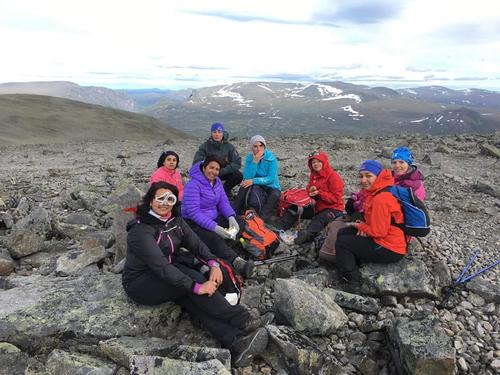 Hele verden til toppen av Norge