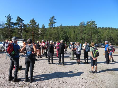 Frå Onsdagstur til Solhomfjell i Nissedal 01.09.2021