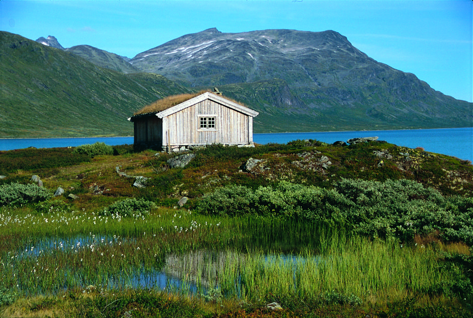 Vinjestua - Aasmund Olavsson Vinje hadde en forkjærlighet for Jotunheimen. Foto: DNT Oslo og Omegn