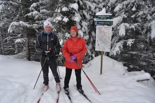 Referat fra skitur på Totenåsen, 27.01.19.