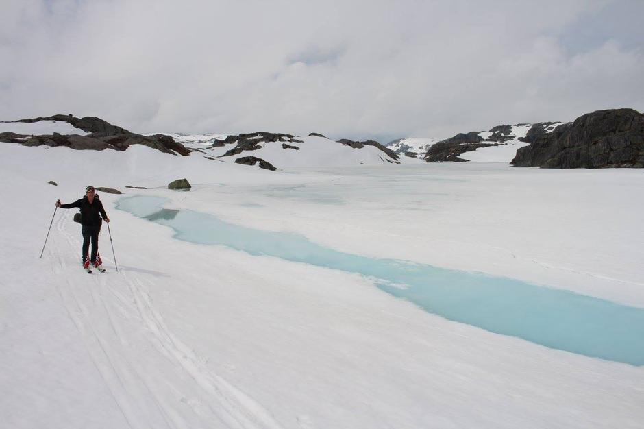 17. Mai Lille Sandvatn. Ingen fjellvatn i Ryfylke er nå trygge
