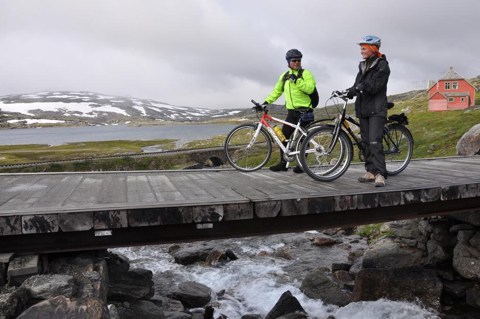 Sykkeltur på Rallarvegen
