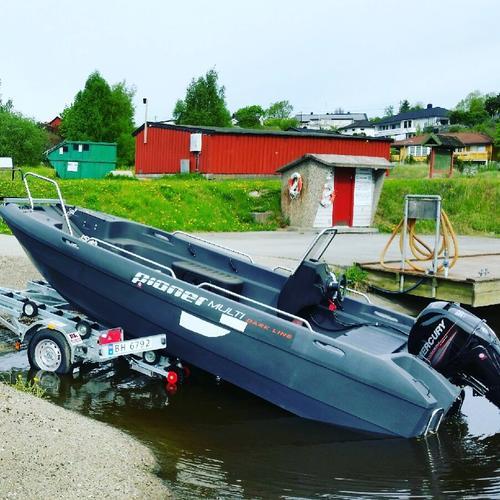 Ny båt i Vansjø