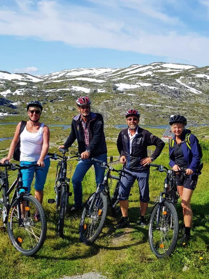 Sykkeltur på rallarvegen fra Finse!