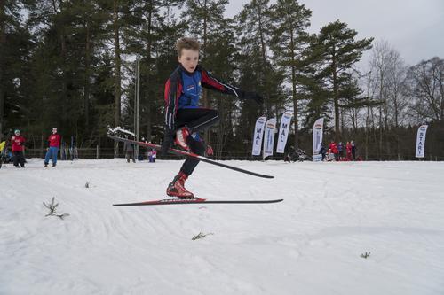 Skifest på Losby