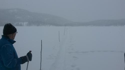 Kvista løyper på Kolsjø